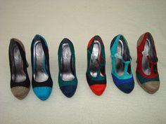 Women's Suede Block High Heel in. Court Shoes, Sd, Bluetooth, Computers, Flip Flops, High Heels, Touch, Adidas, Sandals
