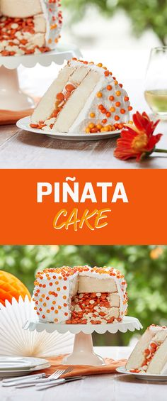 Wow your friends with a piñata cake that's as easy as it is gorgeous!