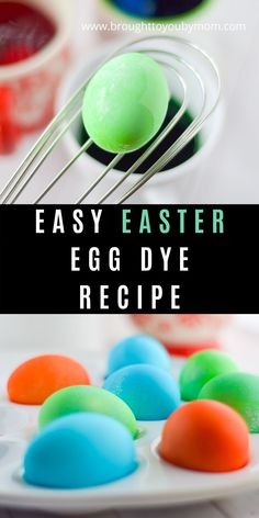 Dying Easter Eggs with food coloring is one of the least expensive and simplest ways to enjoy coloring eggs. Making Easter Eggs, Easter Egg Dye, Recipe For Dying Easter Eggs, Dying Eggs, Easter Recipes, Yummy Recipes, Food Coloring Egg Dye, Coloring Easter Eggs, Egg Decorating