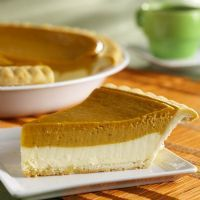 Pumpkin Cheesecake Pie - from the Bunn Gourmet website.  Looks dee-lish!