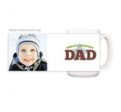 FingerPrintPress World's Greatest Dad -  Mug - Accessories