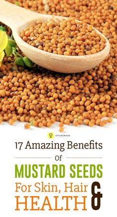 Mustard seeds have been a part of the Indian cooking for many generations. Here are 10 most amazing mustard seeds benefits that you must ...