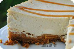 Cheesecake façon Banoffee - Aux bananes, sur croûte de palets bretons