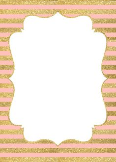 invitation gold and pink - Buscar con Google