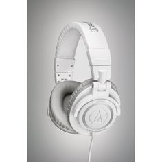 A different flavor of the M50's, this time in white!  So if black or silver isn't your thing, check these out