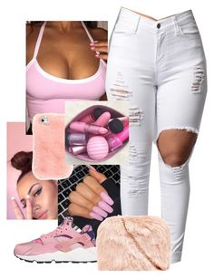 """Pink Obsession"" by trvp6xld ❤ liked on Polyvore featuring NIKE"