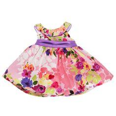 Rare Editions Infant Girl Floral Easter Dress #VonMaur