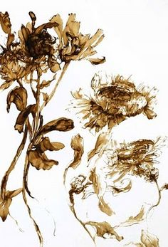 HallReady: The art of display. Ideas on what to exhibit and how to do it.: Claire Basler has Flower Power Botanical Illustration, Botanical Prints, Illustration Art, Art Floral, Watercolor Flowers, Watercolor Art, Natural Forms, Art Techniques, Art World