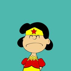 Lucy in wonder woman