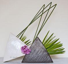 original Ikebana art, Japanese flower arrangement, by Baiko