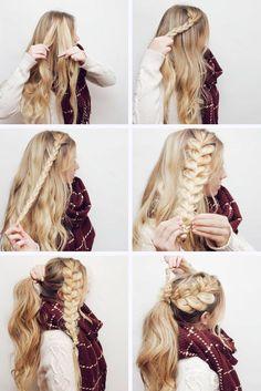 Favorite Braid Hair Tutorials ★ See more: http://glaminati.com/favorite-braid-hair-tutorials/