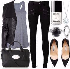 Black & White street styles for everyday