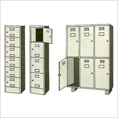 A vertical and safe locker that not ony save your space but also have a good security. Safe Storage, Locker Storage, Storage Places, Your Space, Lockers, Locker, Closet, Cabinets, Cubbies