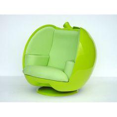 #green #apple #chair