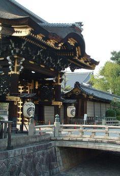 西本願寺 Nishi hongan-ji Temple in  Kyoto/Japan.