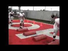 Ohio State Defensive Line Drills and Technique Football Workouts, Football Drills, Football Memes, Football Players, Football Defense, New York Jets Football, High School Football, Celebrity Travel, Ohio