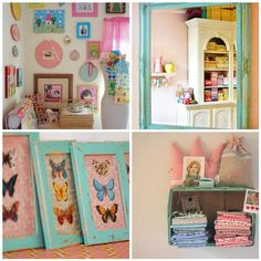 Lovely Craft Rooms