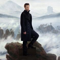 This is such a gorgeous photo of David for Hamlet. I love everything about it!