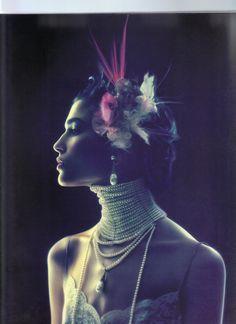 1998 - Galliano 4 Dior adv by Nick Knight