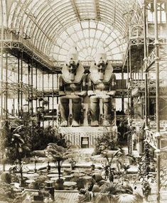 william mcgregor paxtonlondon - Google Search London History, British History, Crystal Palace, Palace Interior, Palace London, Victorian London, Vintage London, Architectural Antiques, Iron Work