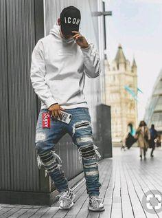 10 Industrious Tips: Urban Wear Women Clothing urban fashion shoot life.Urban Cloth For Men african american urban fashion outfit.Urban Fashion For Men Simple. Urban Apparel, Mode Streetwear, Streetwear Fashion, Streetwear Jeans, Men Street, Street Wear, Ripped Jeans Men, Urban Outfits, Casual Outfits