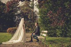 Scottish autumn wedding photography