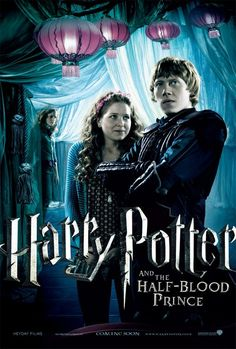 Harry Potter and the Half-Blood Prince: Ron and Lavender with Hermione. why do i think this is so epic?