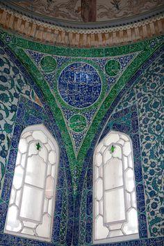 Decorated pendentive, Topkapi Palace, Istanbul, Turkey (photo) / Samual Magal: Sites & Photos Ltd.