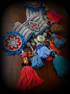 Tribal Belly Dance Belt with Tassels ATS Tassel by DancingTribe, $210.00