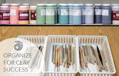 The Clay Conundrum: How to Teach Hundreds of Students While Staying Organized