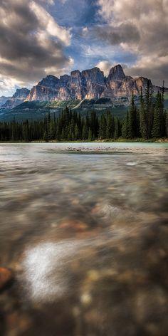 Castle Mountain, Banff, Canada; photo by Adam Baker
