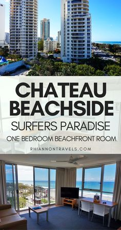 Chateau Beachside Surfers Paradise: One Bedroom Beachfront, QLD | #queensland #surfersparadise #goldcoast