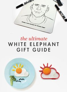 If you've been wondering what to bring to that white elephant gift exchange...