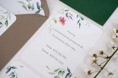 wedding invitations watercolors flower, miodunka papteria, akwarelowe zaproszenia w kwiaty Wedding Stationery, Wedding Invitations, Wedding Invitation