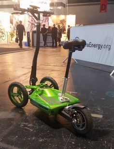 Green is in. The MUVe is the future of long range mobility for everyone.