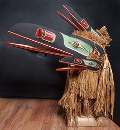 Trevor Hunt (Kwaguilth, British Columbia), Multiple Raven mask