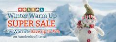 Winter Warm Up Super Sale!