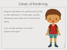 ukas utfordring Fourth Grade, Diy For Kids, Teaching, Education, School, Maths, Third, Quotes, Cute Kids