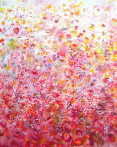 Love Song  Abstract painting original fine art by JessicaTorrant, $350.00