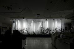 "project :  ISETAN | the stage  ""bokusho"" new year 2011  2011. 1/2, 3, 4    credit :  art direction + artwork : shun kawakami (artless)    stage design : t/m  calligraphy : gen miyamura  produce : pranks    client : ISETAN Co.,ltd.  clothes : Maison Martin Margiela    -  ISETAN SHOW WINDOW [Website]  http://www.isetan.co.jp/icm2/jsp/store/shinjuku/event/show_window/"