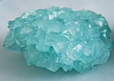 Growing crystals with borax powder (a mineral) and pipe cleaners is a popular kids craft, but...