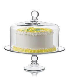 Love this Cake Platter & Dome on #zulily! #zulilyfinds