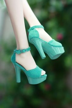 polka dots aquamarine high heels fashion shoes heels image www. Nordstrom (my shoe lust) blue suede shoes Dorothy Heels Ankle Strap Shoes, Shoes Heels, Green Heels, Blue Suede Shoes, Cute Heels, Doll Shoes, Fashion Heels, Party Shoes, Beautiful Shoes