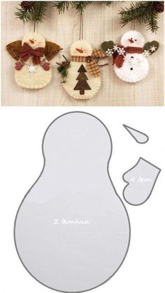 Diy Christmas Felt Ornaments Navidad 47 Ideas For 2019 - holiday decorating. - kalıplar - Diy Christmas Felt Ornaments Navidad 47 Ideas For 2019 – holiday decorating ideas - Felt Christmas Decorations, Christmas Ornaments To Make, Homemade Christmas, Christmas Projects, Winter Christmas, Holiday Crafts, Christmas Ideas, Christmas Music, Christmas Nativity