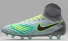 The Pure Platinum Nike Magista Obra II football boots introduce an understated-yet-bold look for the second-gen Nike Magista cleats, launched ahead of the start of the 2016-17 season.