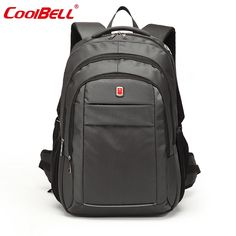 CoolBell Brand Large Waterproof Bag Backpack 15.6,17.3 inch Business Notebook Bag for Men Women Laptop Computer Backpack 15 17