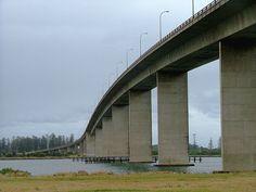 Stockton Bridge, Newcastle, NSW, Australia