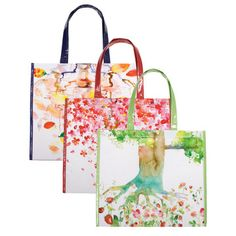 Marsha Tree Bag 3 Pack by Bring It (made of recycled PET plastic - $7.50 for all 3)