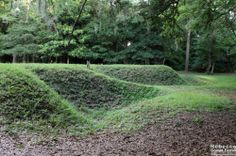 Remnants from the Lost Colony at Roanoke Island.