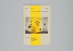 An in-house booklet for IKEA staff, designed around the concept of 'injecting colour and quality into the everyday life.'